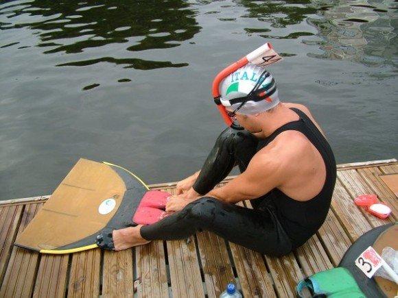 Top of the Finswimmers: Simone Mallegni, Finswimmer Magazine - Finswimming News