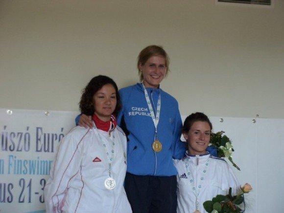Top of the Finswimmers: Petra Hostinska, Finswimmer Magazine - Finswimming News