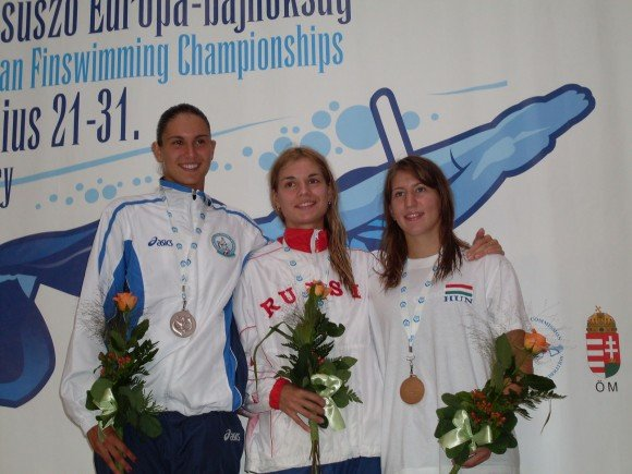 Interview with Elisa Mammi, a Ligurian Champion, Finswimmer Magazine - Finswimming News