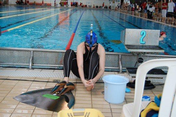 A mermaid from the Est, Olga Shlyakhovska, Finswimmer Magazine - Finswimming News