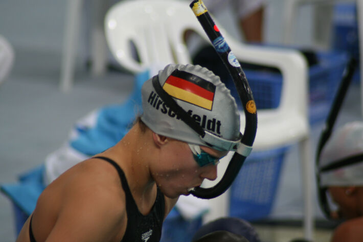 Interview with Tina Hirschfeldt from Germany [2010], Finswimmer Magazine - Finswimming News