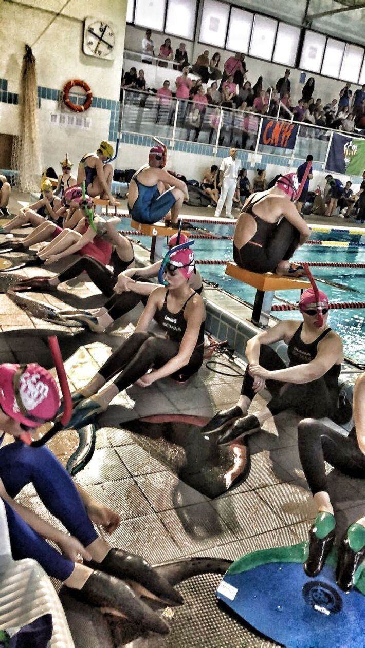 [RESULTS] – International Finswimming Competition – Winter Cup BCN February 2018. Barcelona, Spain, Finswimmer Magazine - Finswimming News