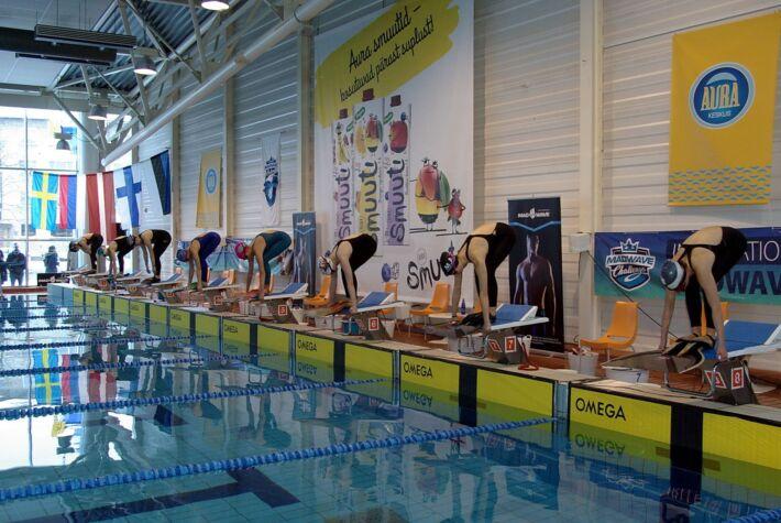 Estonian Finswimming Championships Open+Junior 2020, Finswimmer Magazine - Finswimming News
