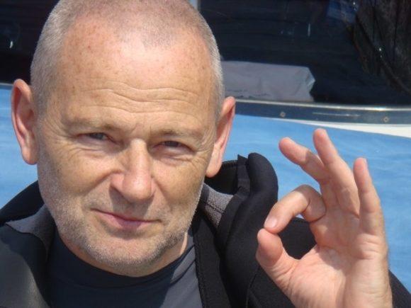 Nyiri Ivan - president of Hungarian Underwater Federation