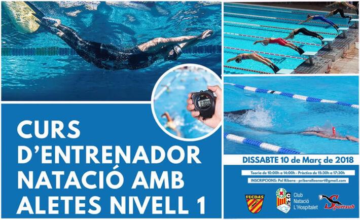 Course for Finswimming Coaches Level 1 (Curs D'Entrenador De Natació Amb Aletes Nivell 1) – Barcelona, Spain, Finswimmer Magazine - Finswimming News