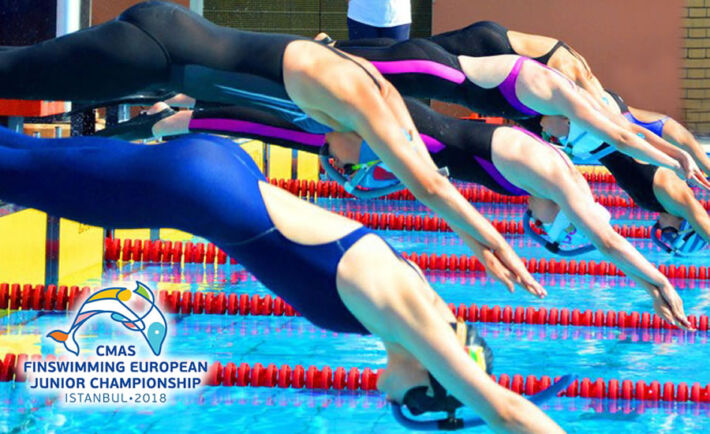 CMAS Finswimming European Junior Championships 2018 – Istanbul, Turkey, Finswimmer Magazine - Finswimming News