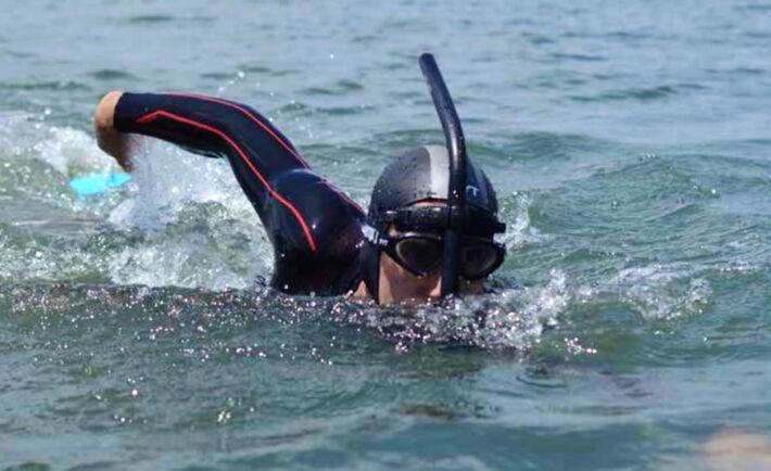 Ben Lecomte Tries To Cross The Pacific Ocean In Finswimming, Finswimmer Magazine - Finswimming News