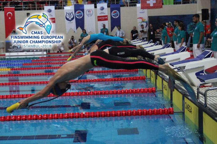 [FINAL RESULTS + VIDEOS] – CMAS Finswimming European Junior Championships 2018 – Istanbul, Turkey, Finswimmer Magazine - Finswimming News