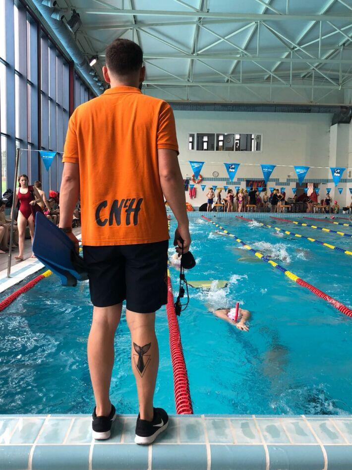 Finswimming Erasmus Program in Barcelona with Ukranian Finswimmer, Finswimmer Magazine - Finswimming News