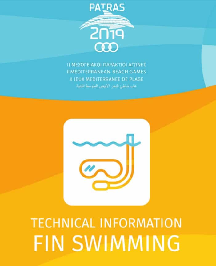 Finswimming in 2nd Mediterranean Beach Games – Patras, Greece 2019 – [RESULTS], Finswimmer Magazine - Finswimming News