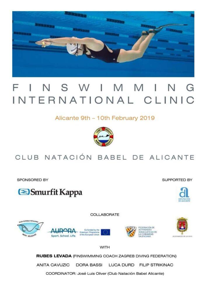 International Finswimming Clinic in Alicante, Spain, Finswimmer Magazine - Finswimming News