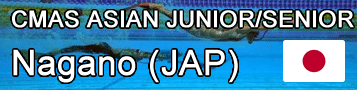 Finswimming CMAS Asian Championships Junior+Senior