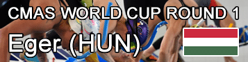 Finswimming CMAS World Cup Round 1