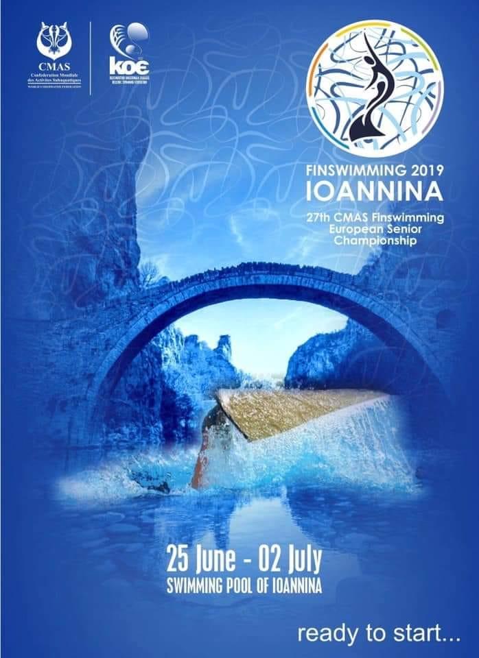 Finnish National Finswimming Team 2019, Finswimmer Magazine - Finswimming News