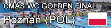 Finswimming CMAS World Cup GOlden Final