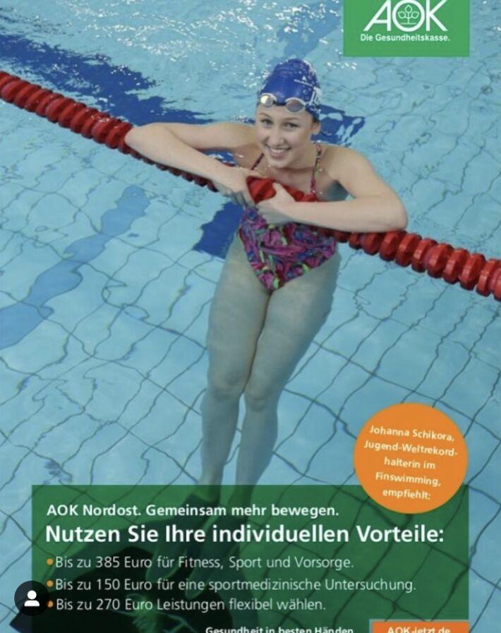 Interview with Johanna Schikora [2019], Finswimmer Magazine - Finswimming News