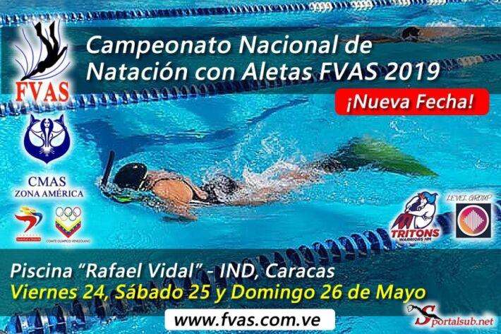 National Finswimming Venezuelan Championship FVAS 2019 – Caracas – [RESULTS], Finswimmer Magazine - Finswimming News