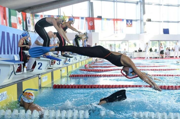 Spain National Finswimming Teams Junior and Senior 2019, Finswimmer Magazine - Finswimming News