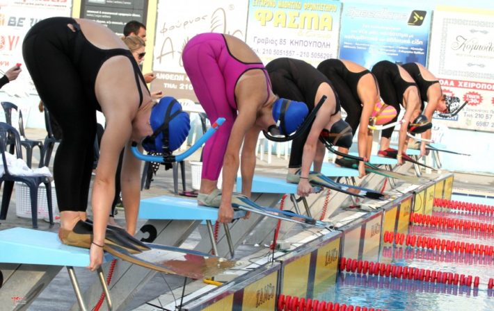 Greek Finswimming National Teams 2019 – Greece & Egypt, Finswimmer Magazine - Finswimming News