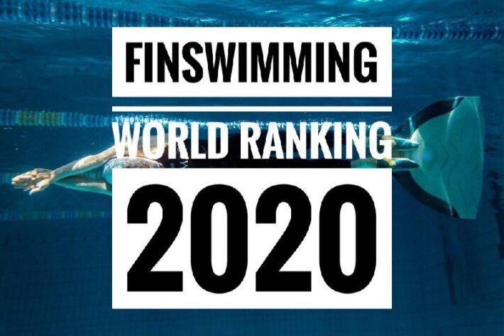 Finswimming World Ranking 2020 [Upd. February 26th 2020], Finswimmer Magazine - Finswimming News