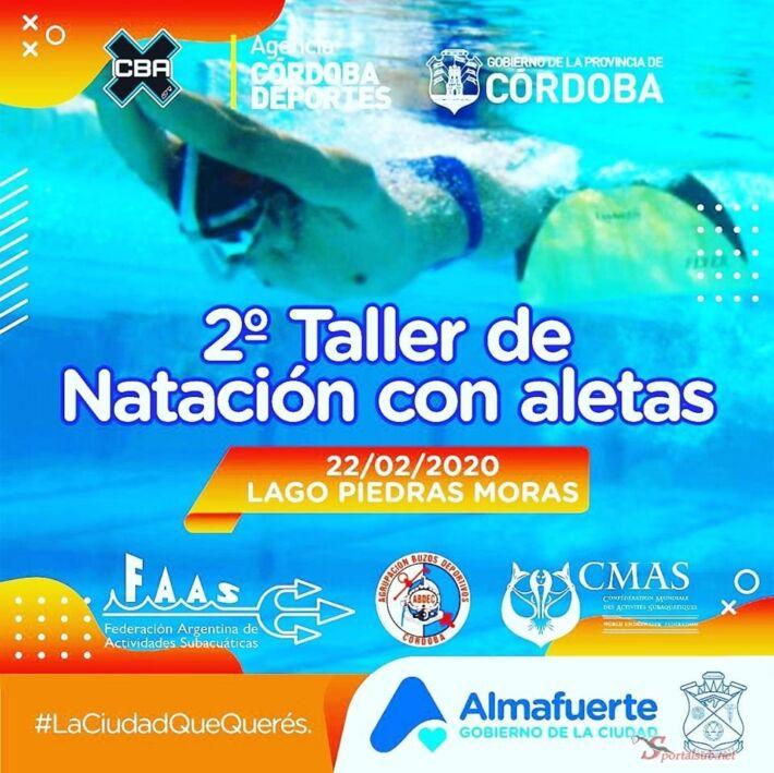 2nd Finswimming Workshop 2020 in Almafuerte, Córdoba – Argentina, Finswimmer Magazine - Finswimming News