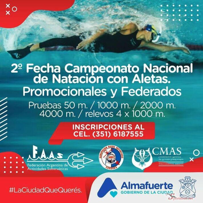 National Finswimming Championship of Argentine 2nd date – Almafuerte, Finswimmer Magazine - Finswimming News