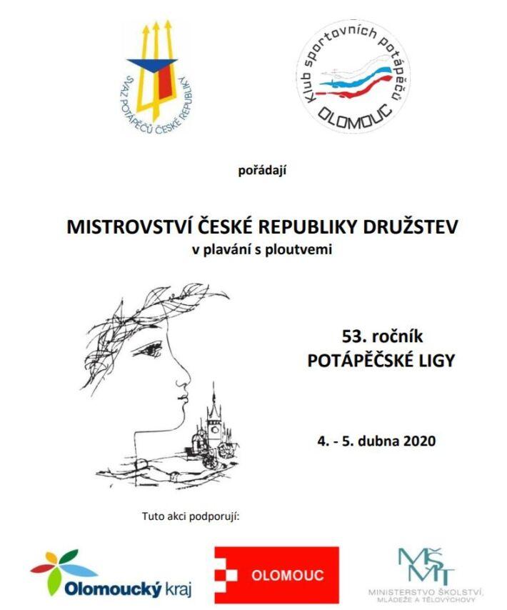 Czechia Finswimming Championships for Clubs 2020 – Olomouc, Finswimmer Magazine - Finswimming News