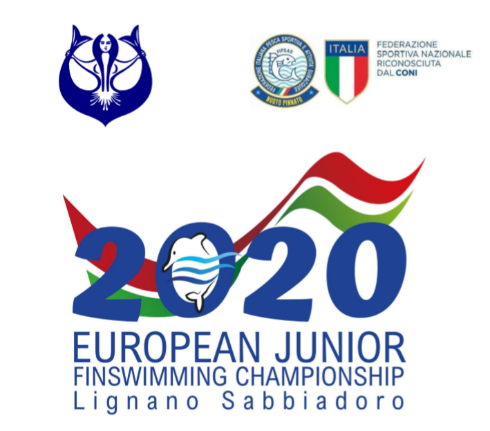 CMAS Finswimming European Junior Championships 2020 – Lignano Sabbiadoro (Italy) [CANCELED], Finswimmer Magazine - Finswimming News
