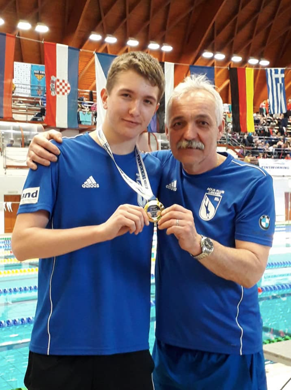 Interview with the coach of the Czech Junior Finswimming Team – Vladimír Beneš, Finswimmer Magazine - Finswimming News