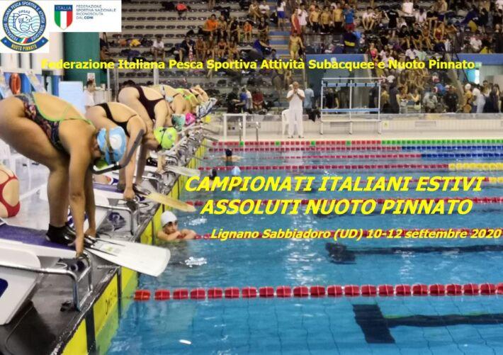 Results Senior Finswimming Italian Championships 2020 + Master, Finswimmer Magazine - Finswimming News