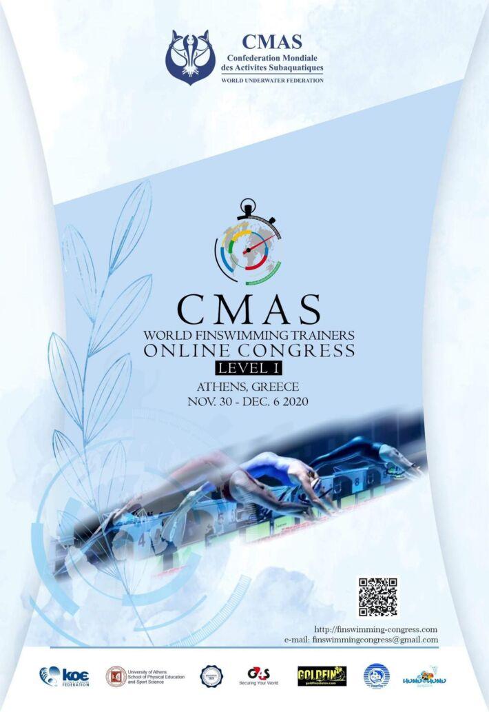 CMAS World Finswimming Trainers Congress 2020 – ONLINE, Finswimmer Magazine - Finswimming News