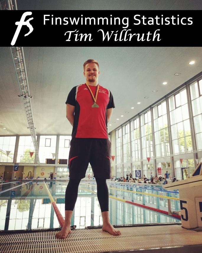 Tim Willruth, mr. Finswimming Statistics, Finswimmer Magazine - Finswimming News