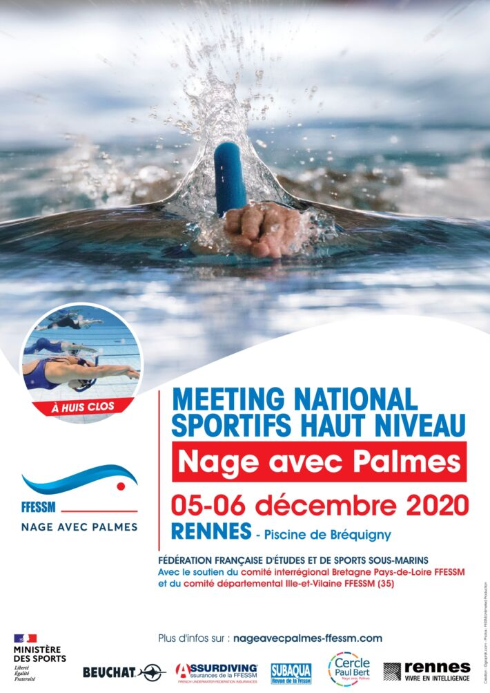 Finswimming National Meeting High Level – Rennes, Finswimmer Magazine - Finswimming News