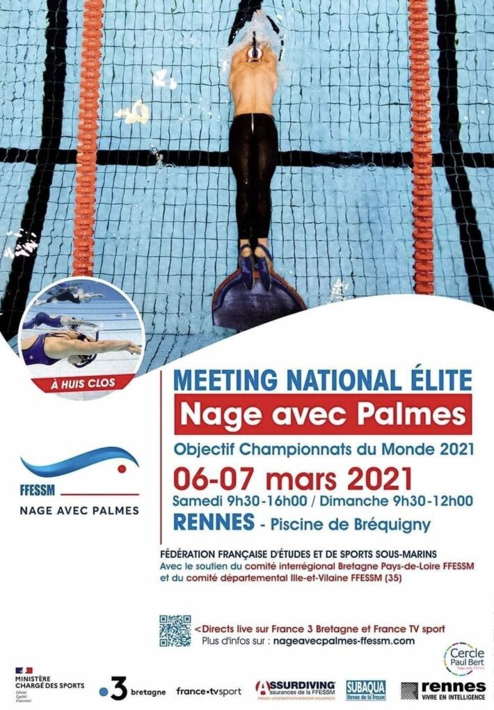 National Finswimming Meeting France – Rennes, Finswimmer Magazine - Finswimming News