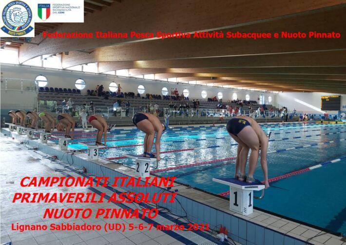 Finswimming Italian Championship 2021 Spring – Lignano, Finswimmer Magazine - Finswimming News