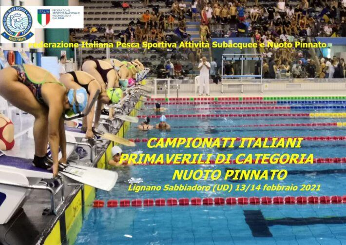 Finswimming Spring Italian Championships for Age – Lignano, Finswimmer Magazine - Finswimming News