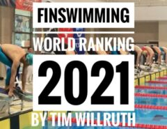 Finswimming World Ranking [UPDATE October 11th 2021], Finswimmer Magazine - Finswimming News