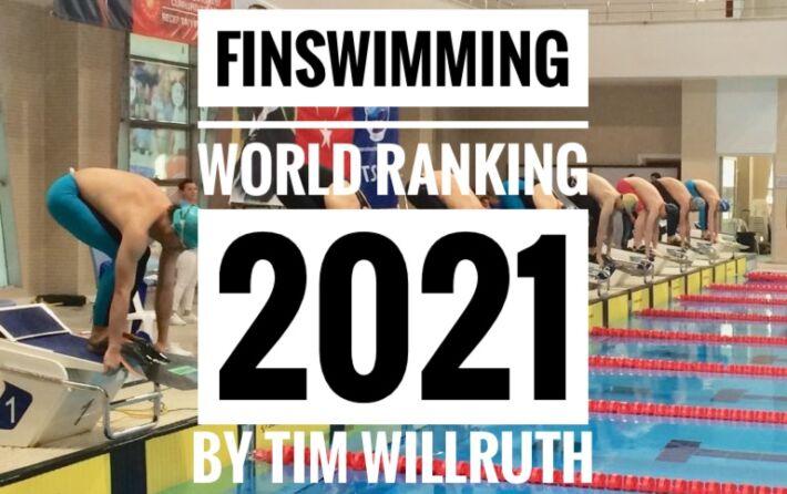 Finswimming World Ranking [UPDATE June 19th 2021], Finswimmer Magazine - Finswimming News