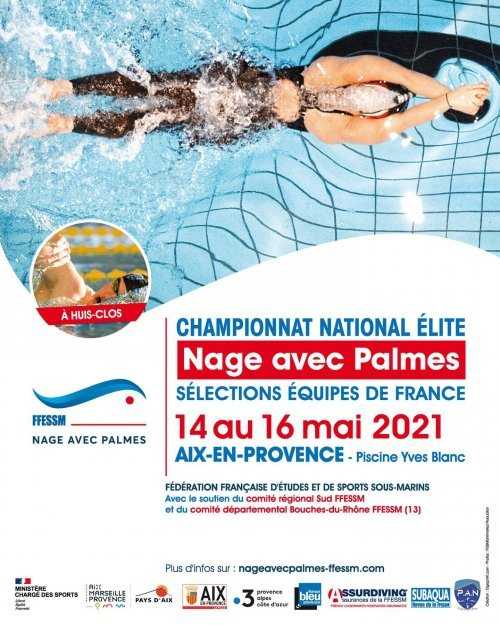 Elite Finswimming Championships 2021, Finswimmer Magazine - Finswimming News