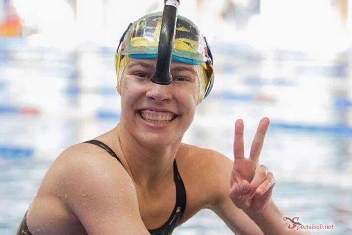 Diana Sliseva NWR 100 imm girls – 36.95, Finswimmer Magazine - Finswimming News