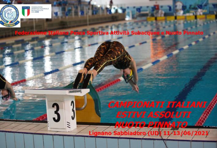 Finswimming Italian Championships 2021 – Lignano, Finswimmer Magazine - Finswimming News