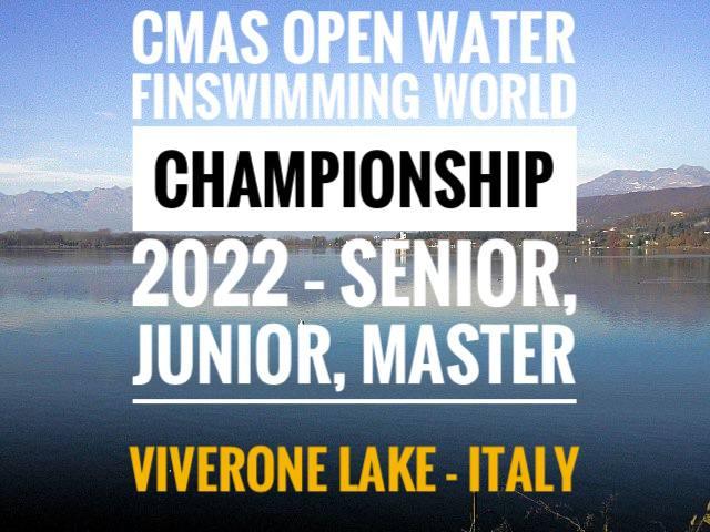 CMAS Open Water Finswimming World Championship 2022 – Senior, Junior, Master, Finswimmer Magazine - Finswimming News